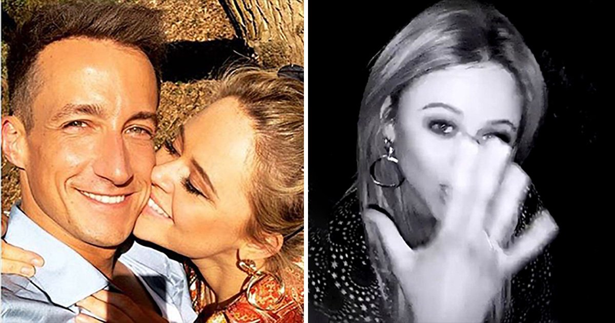 SEC_63492958 Emily Atack addresses engagement rumours after confirming romance with Rob Jowers