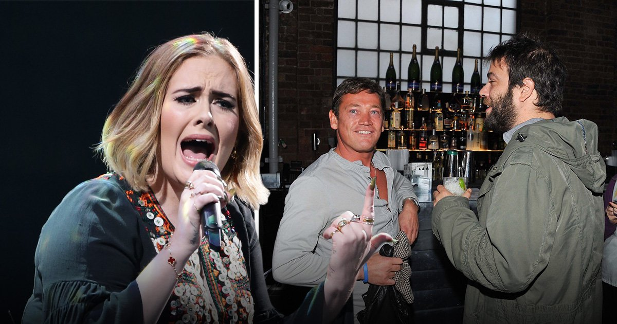 Adele's husband Simon Konecki attends Brits 2019 party with former EastEnders actor Sid Owen