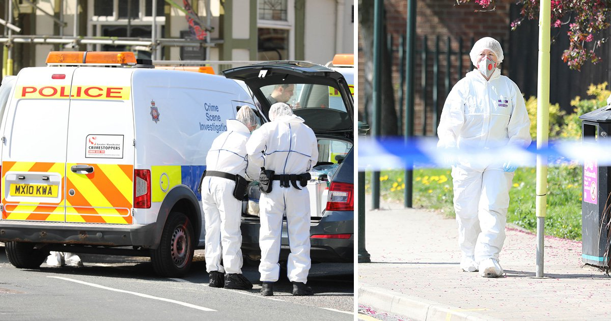 Man, 24, stabbed to death in huge fight outside pub in Manchester