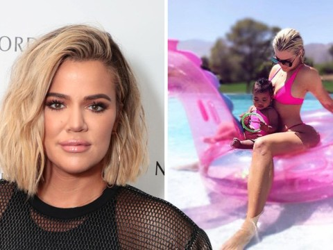 Khloe Kardashian claps back at troll over 'Photoshopped picture' with True