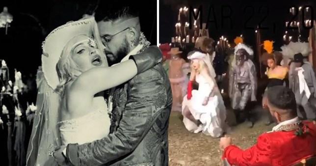 Madonna teaser for Medellin music video