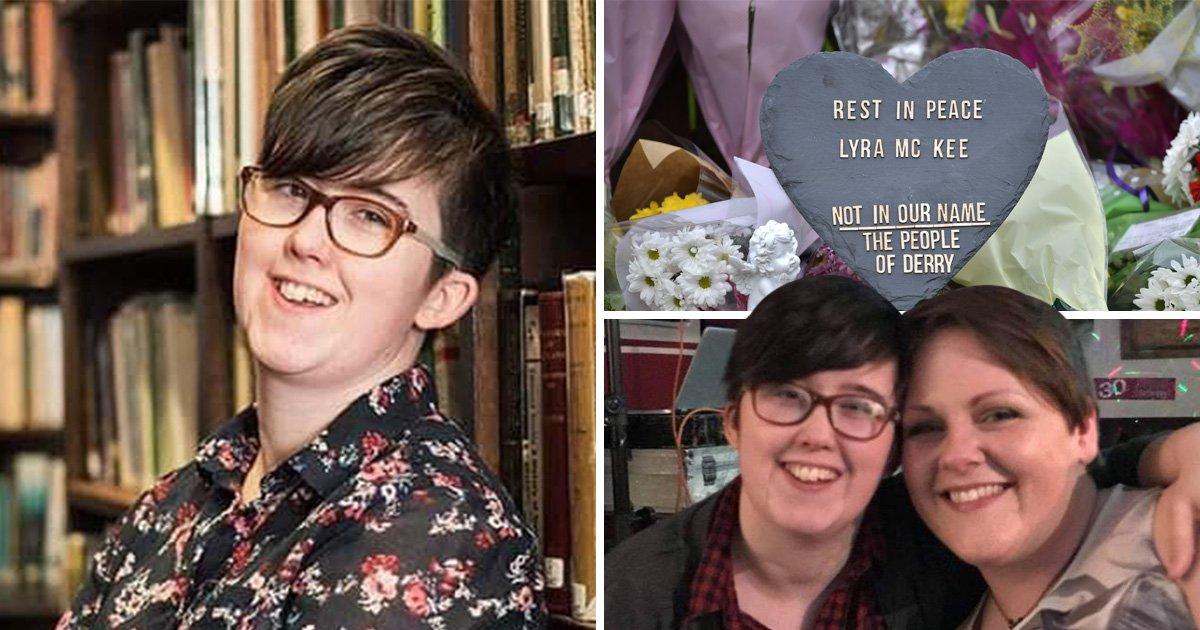 Murdered journalist Lyra McKee was planning to propose to her girlfriend