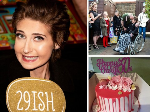 Terminally ill woman thrown surprise 30th birthday party after being told she had just weeks to live