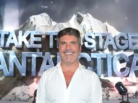 Simon Cowell thinks he's David Attenborough as he announces Antarctica's Got Talent