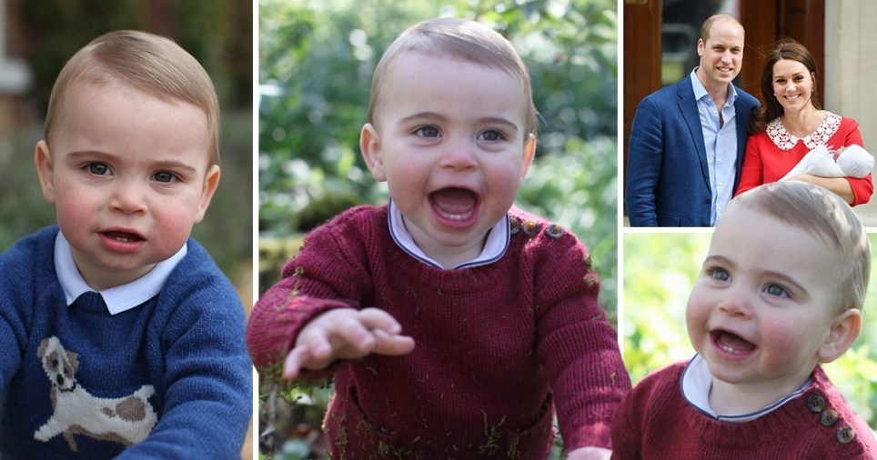 Prince Louis is celebrating his first birthday
