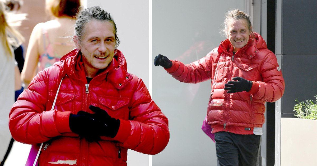 Take That's Mark Owen ignores heatwave for jog in ripped winter jacket and we're concerned