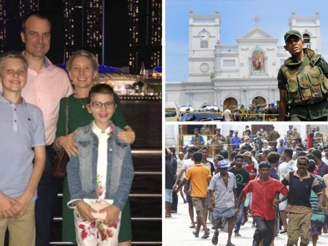 Heartbroken dad pays tribute to 'perfect' wife and children killed in Sri Lanka attacks
