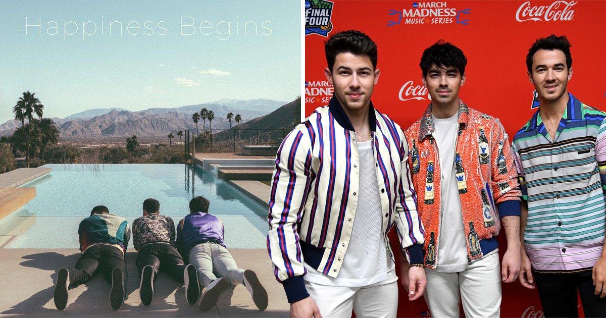 Jonas Brothers announce Happiness Begins album