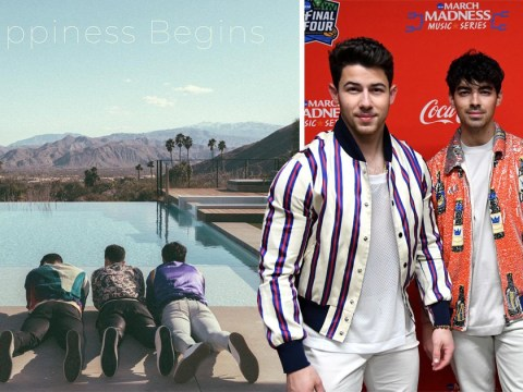 Jonas Brothers announce Happiness Begins album after reunion and our noughties hearts can't deal