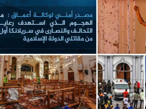Isis claim responsibility for Sri Lanka bombings which killed at least 320