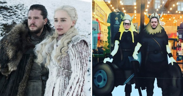 Emilia Clarke references awkward Game Of Thrones revelation with Kit Harington