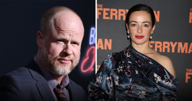 Joss Whedon and Laura Donnelly