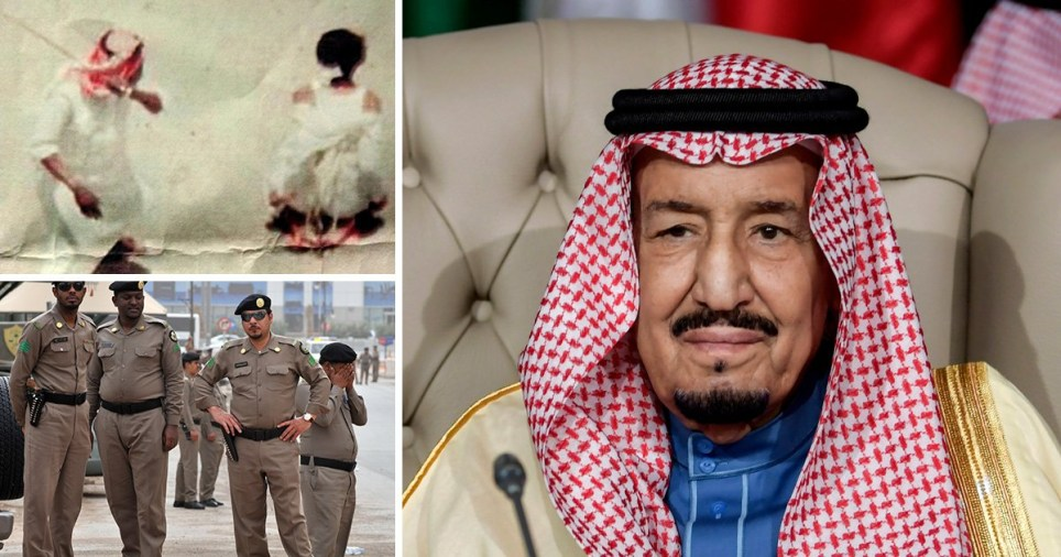 Saudi Arabia beheaded 37 men under a purge on 'terrorists'