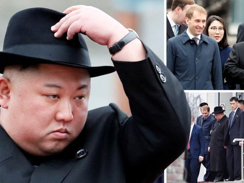 Kim Jong Un arrives in Russia for meeting with Putin