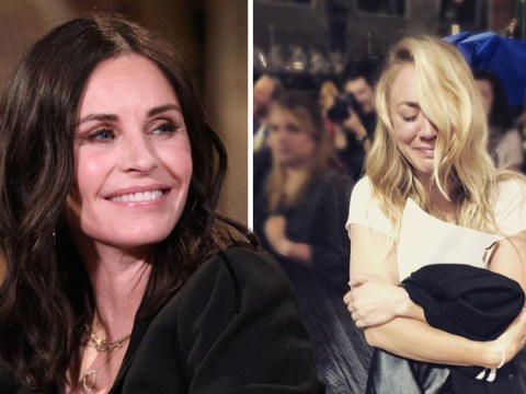 Friends star Courteney Cox reaches out to emotional The Big Bang Theory's Kaley Cuoco