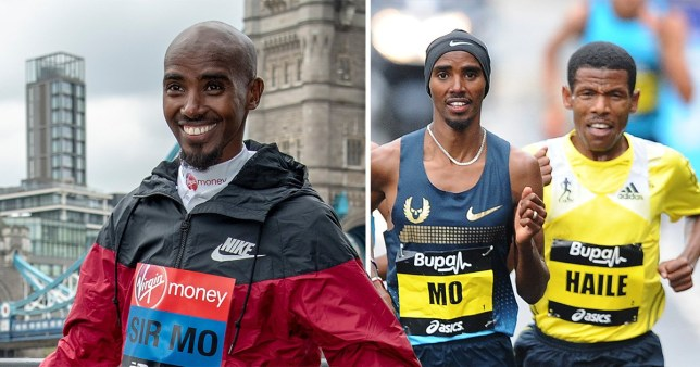 Mo Farah and Haile Gebrselassie are embroiled in a bitter war of words over an alleged hotel theft (Picture: PA)
