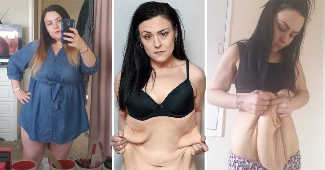 Steph O'Shea has lost more than half of her body weight