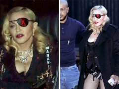 Madonna takes Madame X persona out and about as she brings riding crop to interview