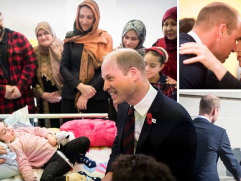 Prince William meets medics who were first to scene of New Zealand terror attack