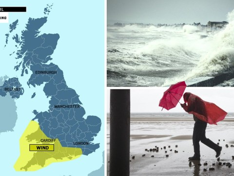Storm Hannah to batter UK with 70mph winds from tomorrow