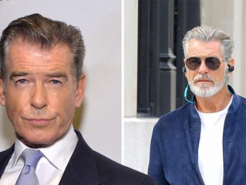 Pierce Brosnan embraces inner silver fox as Rami Malek confirmed for new James Bond film