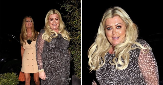 Gemma Collins enjoys night out with Real Housewives of Chesire's Dawn Ward (Picture: Backgrid)