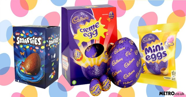 Easter egg clear out see prices cut to as low as 16p per egg