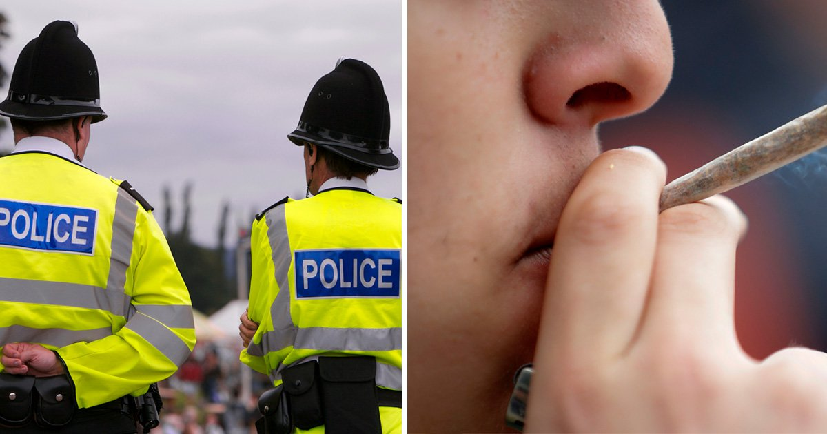 MPs have accused police of decriminalising cannabis (Picture: Getty)