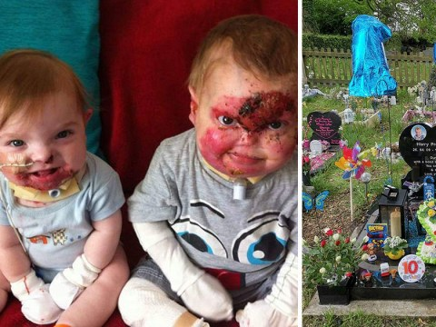 Vandals wreck grave of two brothers who died just days apart from rare illness