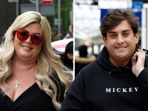 Gemma Collins and James Argent are all smiles as they confirm end of romance