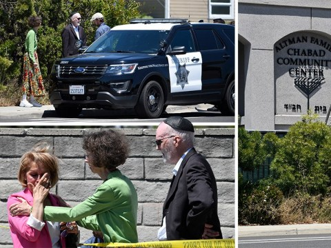 One dead three injured after gunman opens fire at Jews in synagogue