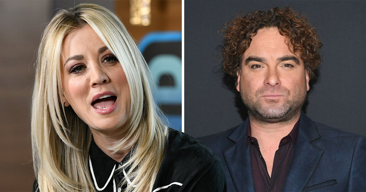 The Big Bang Theory's Kaley Cuoco teases 'something special' as she films with Johnny Galecki