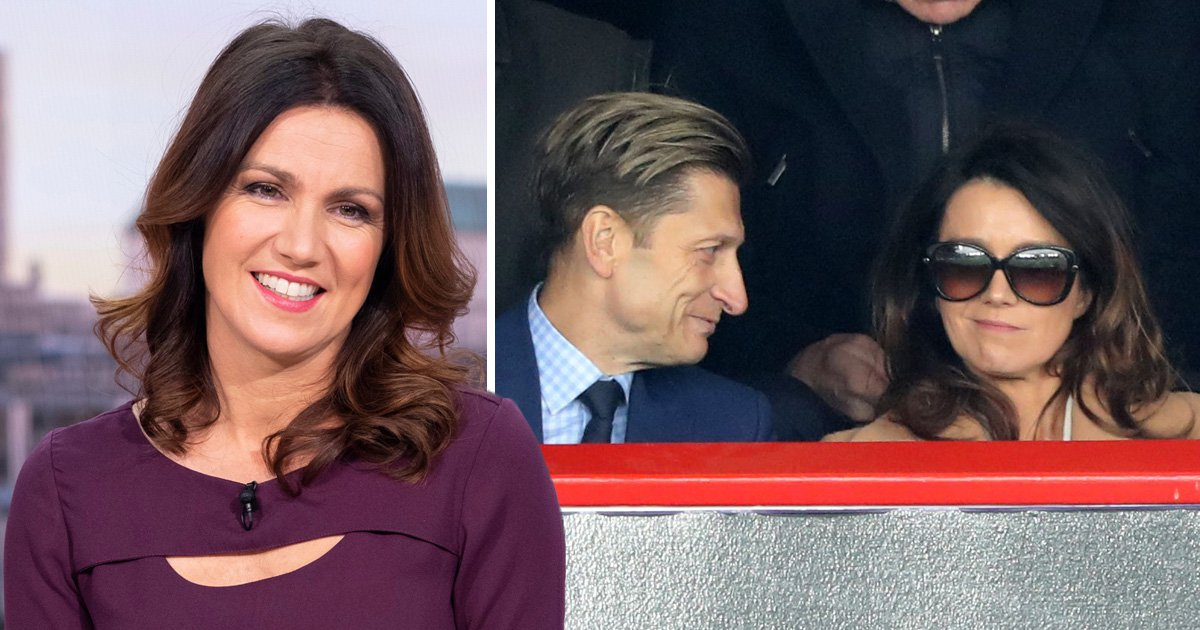 Good Morning Britain's Susanna Reid 'splits from Crystal Palace chairman Steve Parish' despite cosy football date