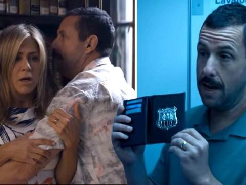Jennifer Aniston and Adam Sandler framed for murder in Netflix's Murder Mystery trailer
