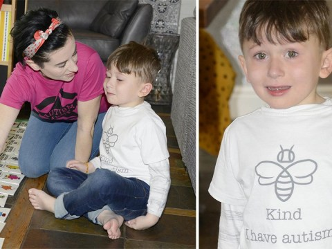 Mum designs 'I have autism' t-shirts so strangers will stop calling her son 'naughty'