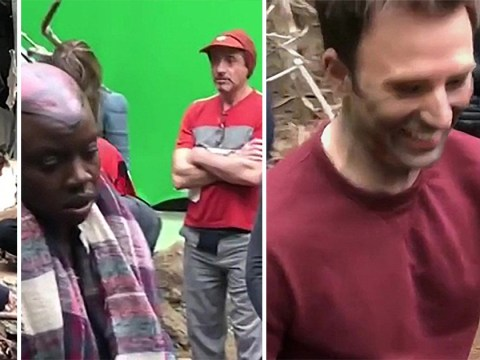 Avengers' Chris Pratt breaks cardinal rule on Endgame set as he films secret footage of star-studded cast