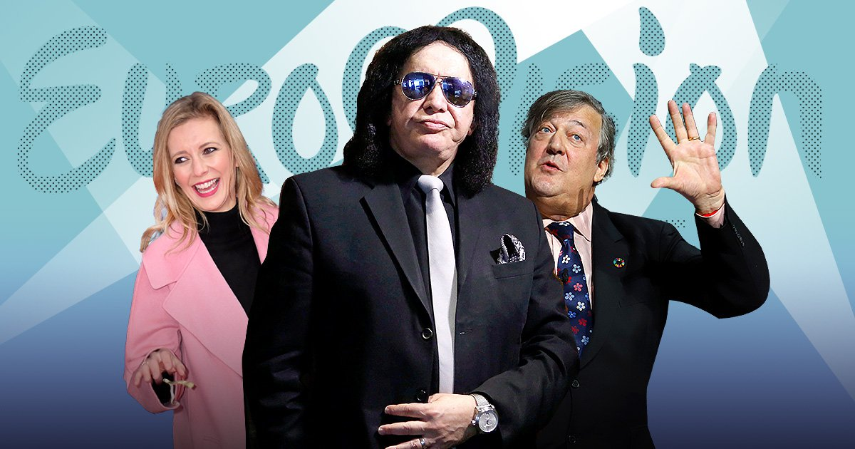 Stephen Fry, Rachel Riley and Gene Simmons sign statement opposing Eurovision boycott