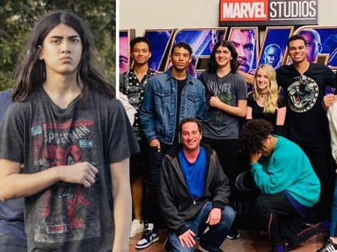 Michael Jackson's son Blanket joins brother Prince to watch Avengers: Endgame in rare outing