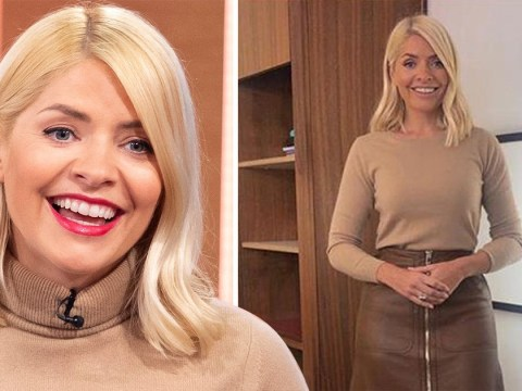 Holly Willoughby is all kinds of beige, but somehow makes it work