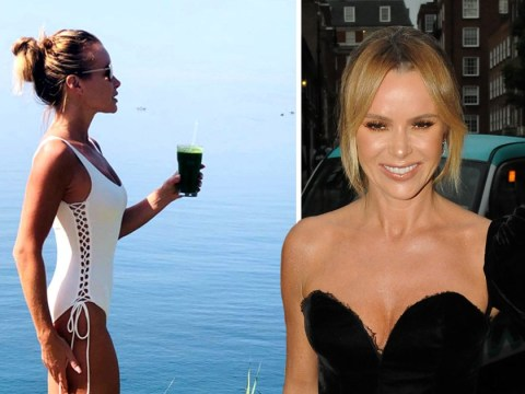 Amanda Holden gives us a masterclass in perfecting your best influencer pose