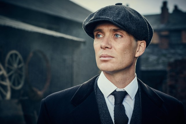 Television programme: Peaky Blinders 3, starring Cillian Murphy as Thomas Shelby.