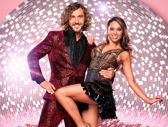 Television programme: Strictly Come Dancing 2018 - TX: 08/09/2018 - Episode: n/a (No. 1) - Picture Shows: Seann Walsh, Katya Jones - (C) BBC - Photographer: Ray Burmiston