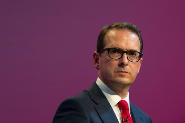 CARDIFF, WALES - AUGUST 04: Owen Smith MP speaks at the first Labour leadership debate at the All Nations Centre on August 4, 2016 in Cardiff, Wales. The result of the Labour leadership contest between Jeremy Corbyn MP and Owen Smith MP is due to be announced on September 24. (Photo by Matthew Horwood/Getty Images)