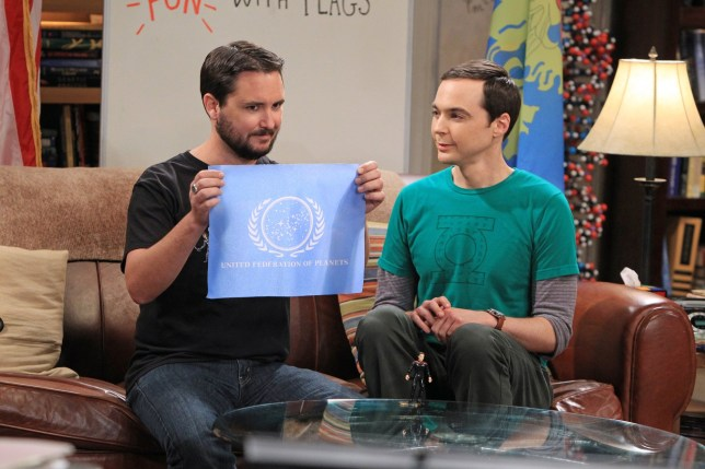 Wil Wheaton and Jim Parsons on The Big Bang Theory