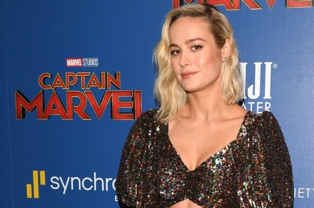 Mandatory Credit: Photo by Andrew H. Walker/REX (10143828bu) Brie Larson 'Captain Marvel' film screening, Arrivals, New York, USA - 06 Mar 2019