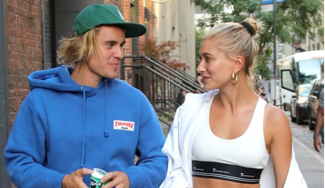 Mandatory Credit: Photo by John Peters/Ace Pictures/REX/Shutterstock (9761750h) Justin Bieber and Hailey Baldwin Justin Bieber and Hailey Baldwin out and about, New York, USA - 12 Jul 2018