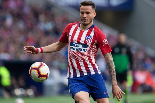 SIPA USA via PA Images Saul Niguez of Atletico de Madrid during the match between Atletico Madrid vs CD Leganes of La Liga, date 27, 2018-2019 season. Wanda Metropolitano Stadium, Madrid, Spain - 9 MAR 2019. (Photo by pressinphoto/Sipa USA)
