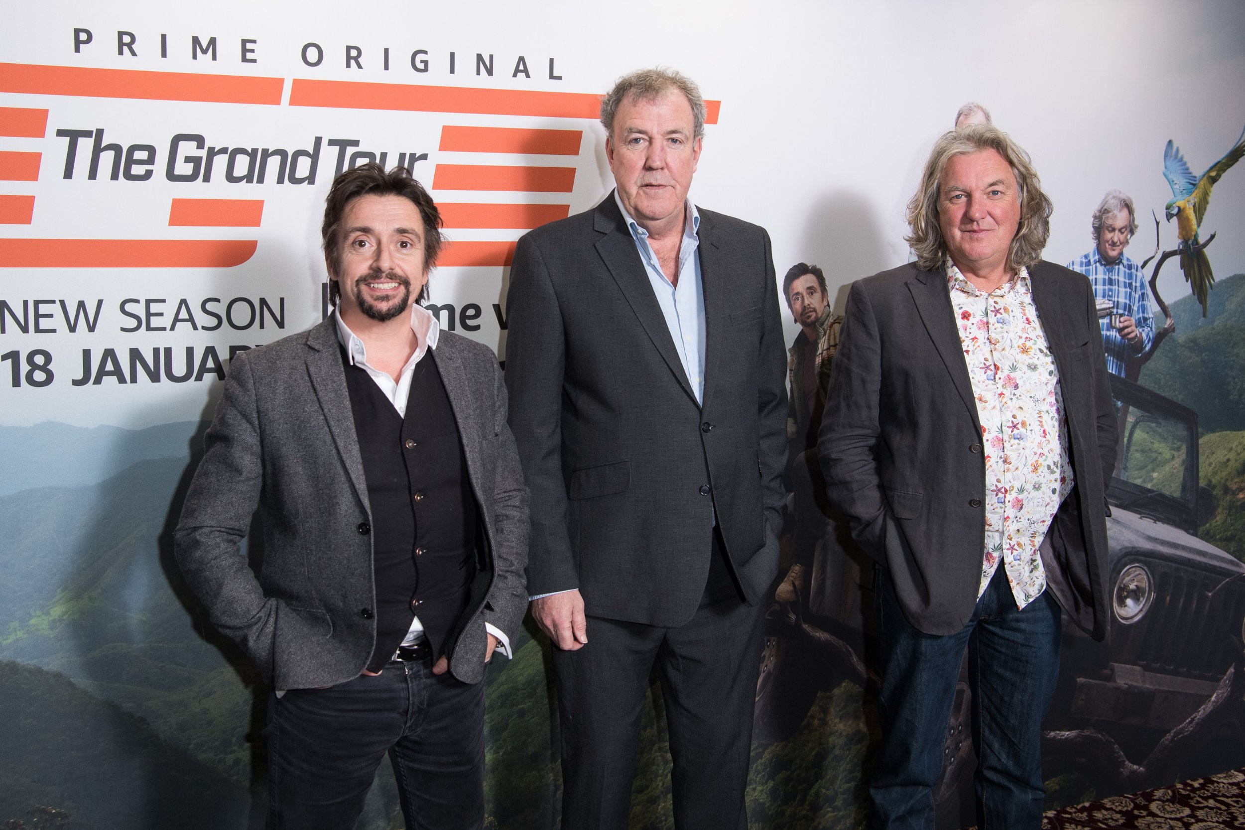 The Grand Tour hosts 'await £29m payday', three years after setting up a TV company to launch Amazon show