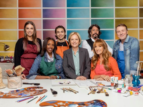 What time is Celebrity Painting Challenge on TV and what is it all about?