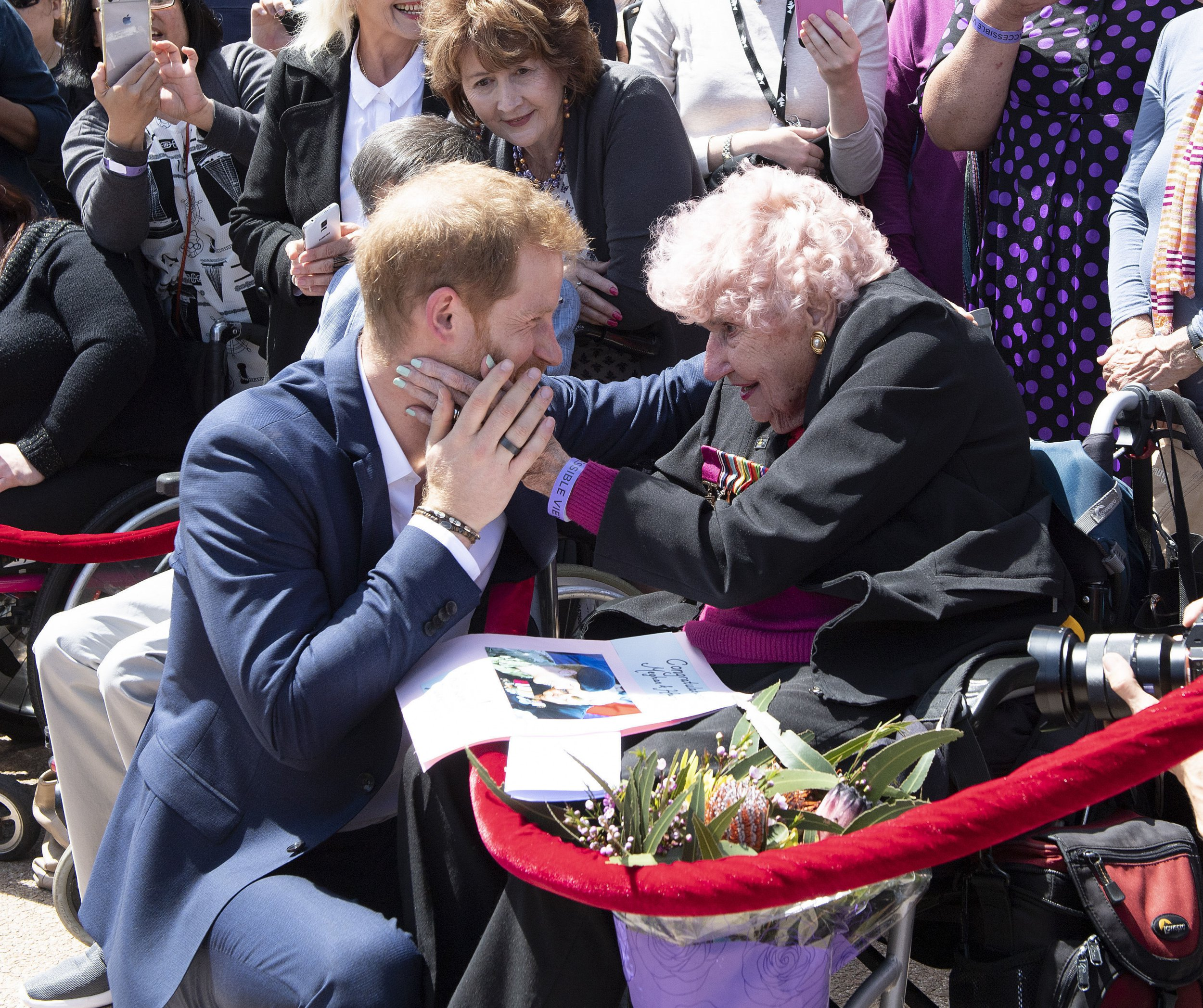 Prince Harry's biggest fan, 99, died days after receiving birthday card from him